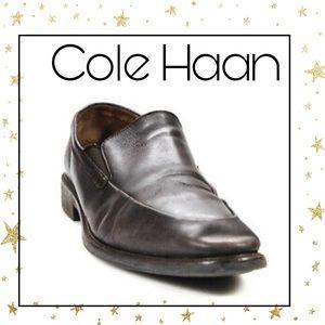 Cole Haan Men's Slip On Dark Brown Loafers 11.5